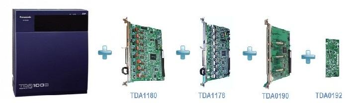 سانترال TDA100DBA قیمتی پایین تر با امکانات بیشتر