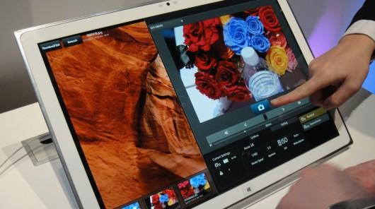 تبلت جدید پاناسونیک با صفحه نمایش 20 اینچی و کیفیت 4K