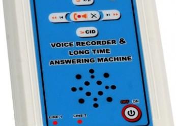 دستگاه ضبط مکالمات تلفنی دوخط همزمان