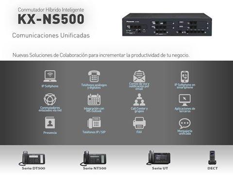 معرفی سانترال هوشمند پاناسونیک مدل KX NS500